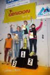 Vyhlášení vítězů dívky kategorie J. Foto: Monika Brkalová.