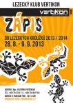 Zápis do lezeckých kroužků pro děti na rok 2013/2014