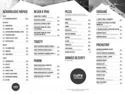 Kafebar - menu 2