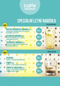 Kafebar - lení nabídka 1